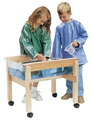 Petite table sable et eau mobile de Childcraft® - Petite table sable et eau