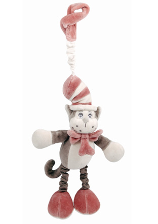 Dr. Seuss by My Natural - Cat in the Hat Stroller Toy picture