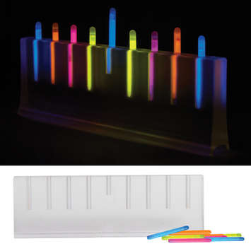 Glowing Menorah picture