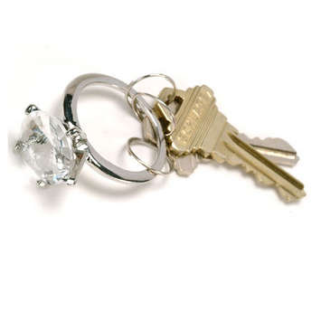Diamond Bling Keychain picture