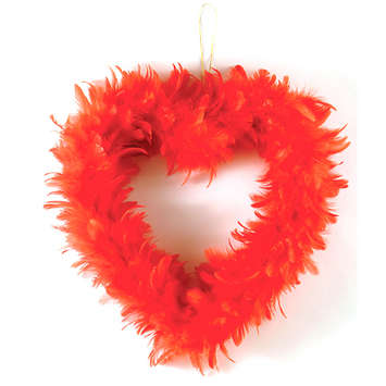 Feather Heart Wreath picture