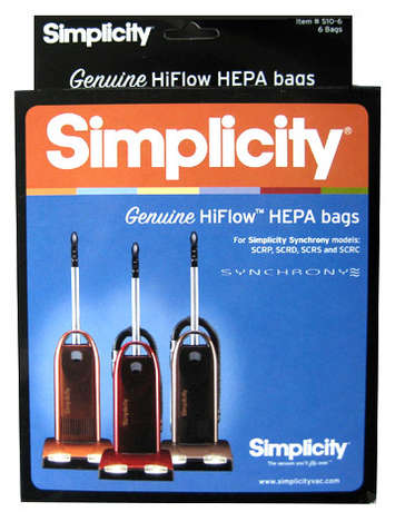 Synchrony Genuine HEPA Media Vacuum Bags picture
