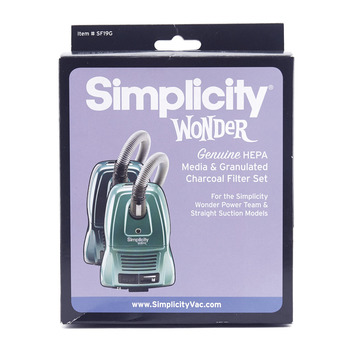 HEPA Media and Granulated Charcoal Filter Set for Wonder Canisters picture