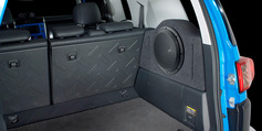 FJ Cruiser Stealthbox