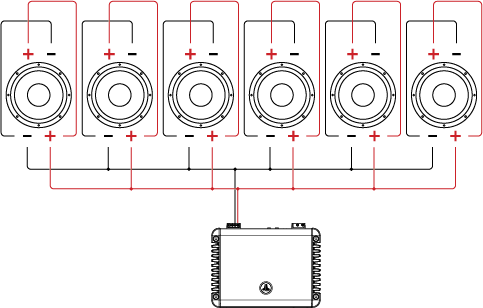 Wiring Diagram Showing Two Amplifiers With 6 Speakers from mediacdn.shopatron.com