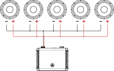 Single Voice Coil (SVC) Wiring Tutorial – JL Audio Help ... on amp wiring, sound wiring, cruise control wiring, av receiver wiring, sub wiring, automatic headlights wiring, audio wiring, air conditioning wiring, usb wiring, surround wiring, speaker wiring, soundbar wiring, bass wiring, keyboard wiring, woofer wiring, amplifier wiring, crossover wiring, power wiring,