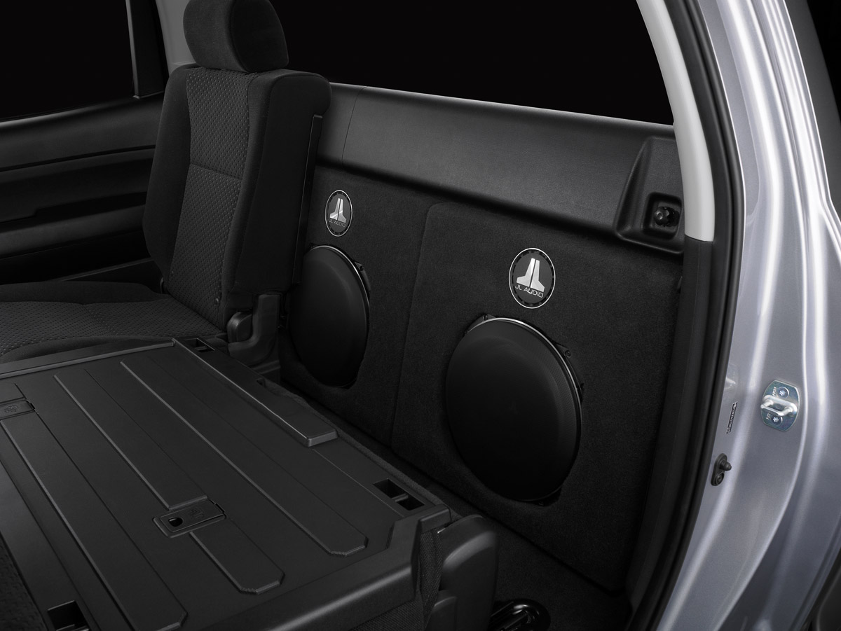 Tundra Stealthbox Jl Audio Toyota Double Cab 2007 Up Subwoofer
