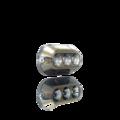 Amphibian Pro Series A3Pro White / Gun Metal Insert