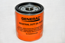 Generac Oil Filter 75 Logo Orng