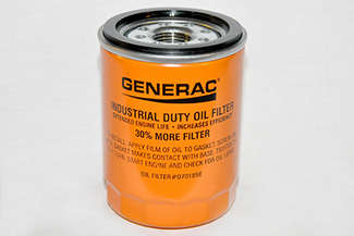 Generac Oil Filter 90 Logo Orng picture