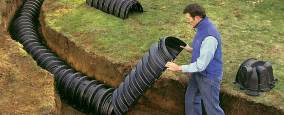 how to make a septic tank out of a barrel
