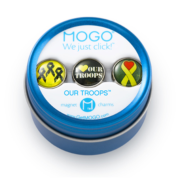 MOGO Charm Collection Our Troops picture