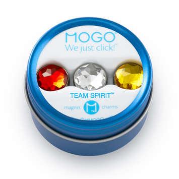 MOGO Team Spirit Bling Collection Red Clear Gold picture