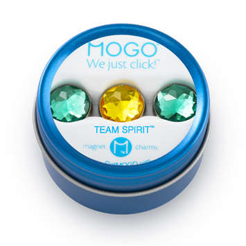 MOGO Team Spirit Bling Collection Green Gold Green picture