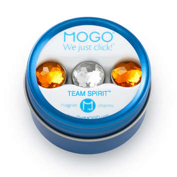 MOGO Team Spirit Bling Collection Orange Clear Orange picture