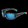 Keelback Matte Black Bahamas Polarized Offshore Blue oleo AR