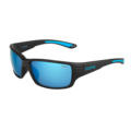 Kayman Matte Black Blue Polarized Offshore Blue oleo AR