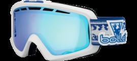 Nova II Matte White and Blue Aurora