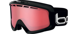 Nova II Shiny Black Polarized Vermillon