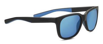 EGEO Sanded Black /  Blue Polarized 555nm Blue