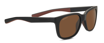 EGEO Sanded Black /  Brown Polarized Drivers