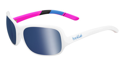 Kassia Shiny White Polarized Offshore Blue oleo AR picture