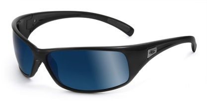 Recoil Shiny Black Polarized Offshore Blue oleo AR picture
