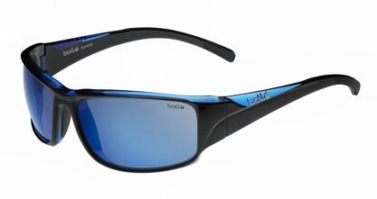 Keelback Shiny Black / Blue Translucent Polarized Offshore Blue oleo AR picture