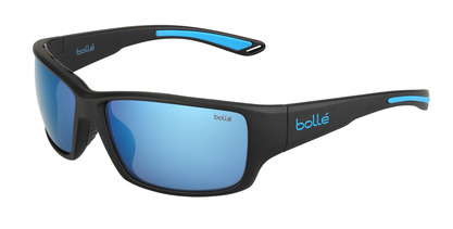 Kayman Matte Black Blue Polarized Offshore Blue oleo AR picture