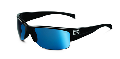 Zander Shiny Black Polarized Offshore Blue oleo AR picture