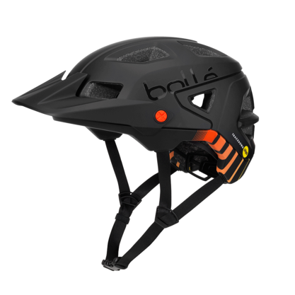 TRACKDOWN MIPS BLACK FIRE 51-54 CM picture