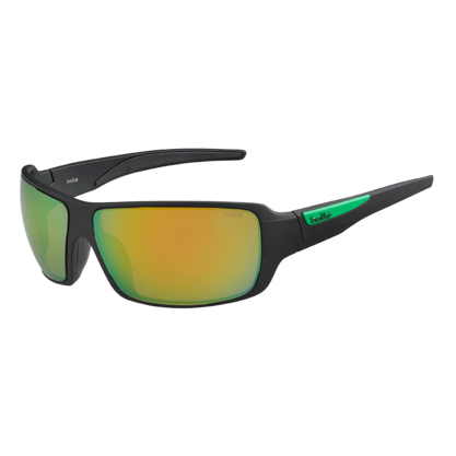 Cary Matte Black Polarized Brown Emerald oleo AF picture