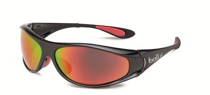 Spiral Shiny Black/Red Polarized TNS Fire oleo AF picture