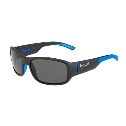 Heron Matte Black Blue Polarized TNS Oleo AR picture