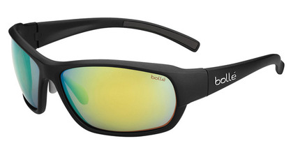 Bounty  Matte Black Polarized Brown Emerald picture
