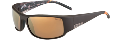 King Matte Brown Sea Polarized Inland Gold oleo AR picture