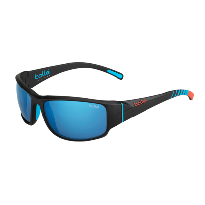 Keelback Matte Black Bahamas Polarized Offshore Blue oleo AR picture