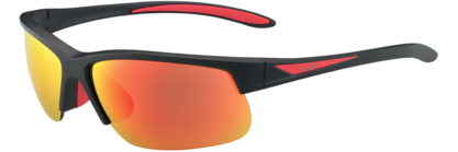 Breaker Matte Black/Red Polarized TNS Fire oleo AF picture