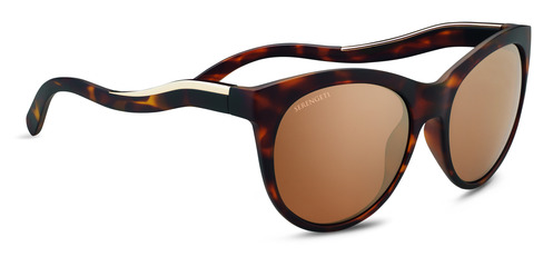 Valentina    Satin Tortoise/Shiny Champagne Gold Polarized Drivers gold picture