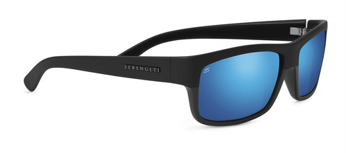 Martino Satin / Shiny Black Polarized 555nm Blue picture