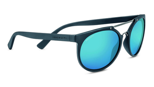 Lerici Sanded Dark Gray/Satin Dark Gun Polarized 555nm Blue picture