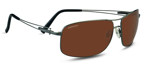 Sassari  Shiny Gunmetal  Polarized Drivers picture