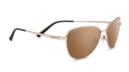 Gloria Soft Satin Gold Polarized  Drivers Gold picture