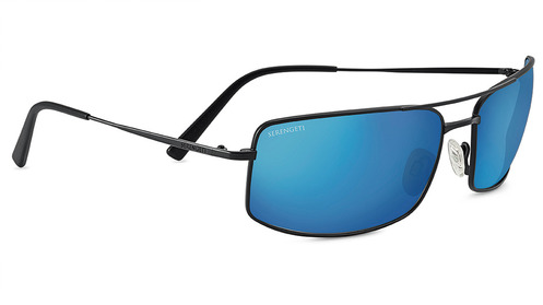 Treviso   Satin Black  Polarized 555nm Blue picture