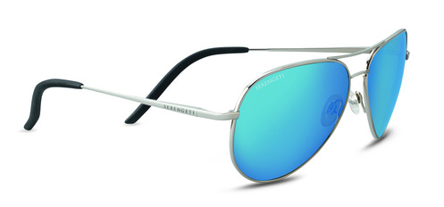 Carrara Shiny Silver Polarized 555nm Blue picture