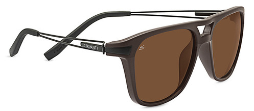 Empoli Shiny/Matte Brown Polarized Drivers picture
