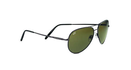 Medium Aviator Shiny Gunmetal Polar 555 NM 6 Base picture