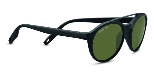 Leandro   Satin Black/Satin Dark Gun  Polarized 555nm picture