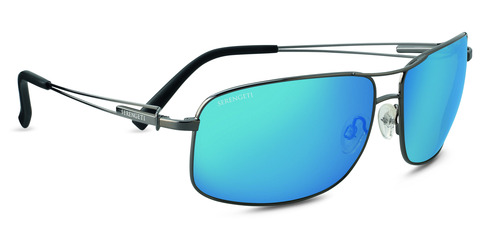 Sassari  Shiny Gunmetal Polarized 555nm Blue picture