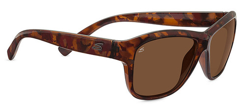 Gabriella Shiny Red Tortoise Polarized Drivers picture